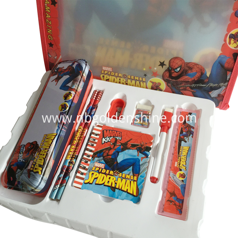 Spider Man Take Along Ruler Eraser Stationery
