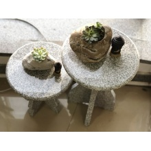 G603 granite flower pot stand