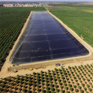 Fish Farm Pond Liner Hdpe Geomembrane with UV
