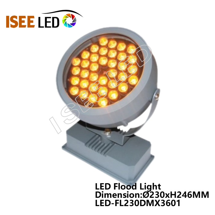 Round 36W DC24V Outdoor Facade Light Fixtures