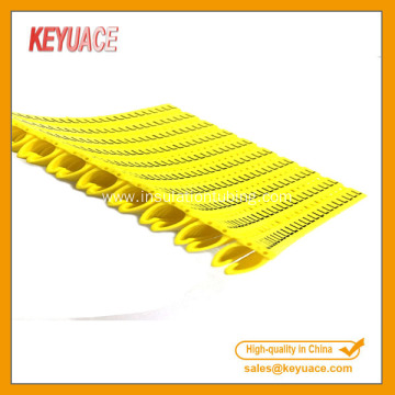 POM 1.5mm 2.5mm 4mm 6mm Network Cable Markers
