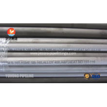 SB163 / SB165 / SB829 Monel Alloy 400 Seamless Nickel Alloy Pipe UNS N04400