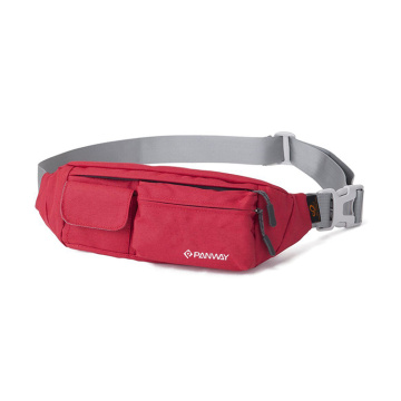 Good Quality Adjustable Waterproof 600D/PU Polyester Fanny Packs  Waist Bag Bum Bag