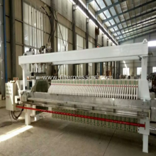 High Pressure Ceramic Treatment Industrial Filter Press