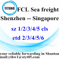 Shenzhen to Singapore Internatioanl Freight Forwarder