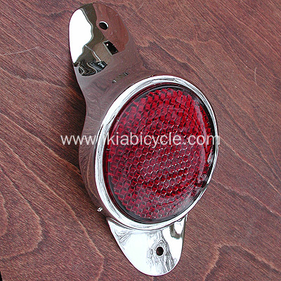 Bicycle Spoke Red Reflector