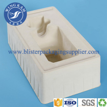 Professional Luxury Flocking Plastic Tray for Wine
