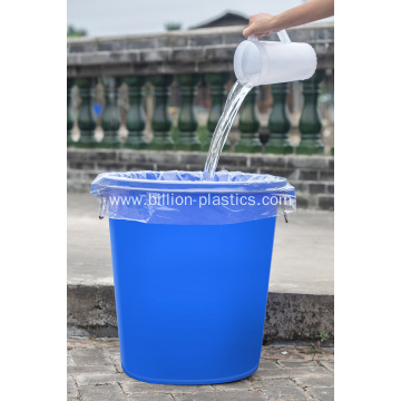 HDPE Transparent Plastic Garbage Bags on Roll
