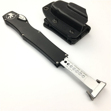 Microtech HALO VI Pocket Knife Out the Front