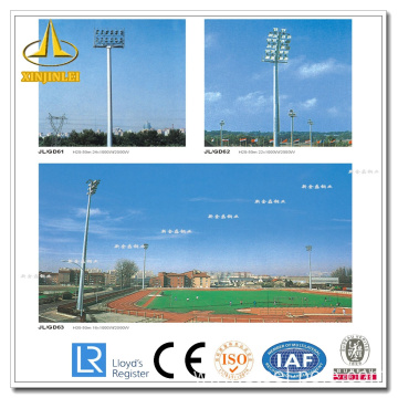 China Manufacturers for High Mast pole for stadium Galvanzied Steel High Mast Road Lighting Pole export to Christmas Island Supplier