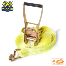 High Quality for Ratchet Tie Down Polyester Webbing Light Ratchet Buckle Strap For Heavy Duty export to Greenland Importers