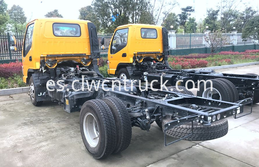 wheel lift towing vehicles chassis 3