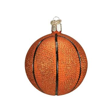 High Quality for Clear Christmas Balls Bulk Customized Basketball Glass Blown Ornaments Round Glass Christmas Ball export to Sierra Leone Factory