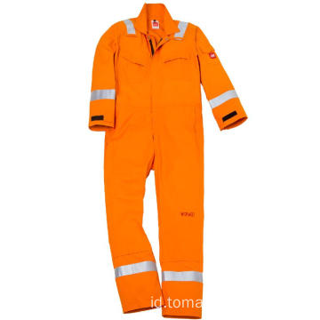 Flame Retardant Fabric Fire Suits Keseluruhan