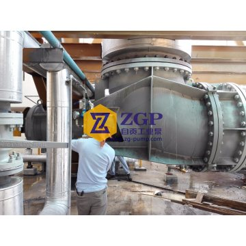 Horizontal Chemical Duplex Stainless Steel Axial Flow Pumps