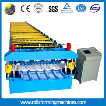 Sheet metal roll forming machines