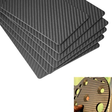 I-3K carbon fiber lamised sheet 2mm 10mm cnc cut