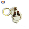 Metal custom logo cheap diecast keychains