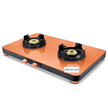 Pastel Ultra Slim Edge Glass Gas Stove