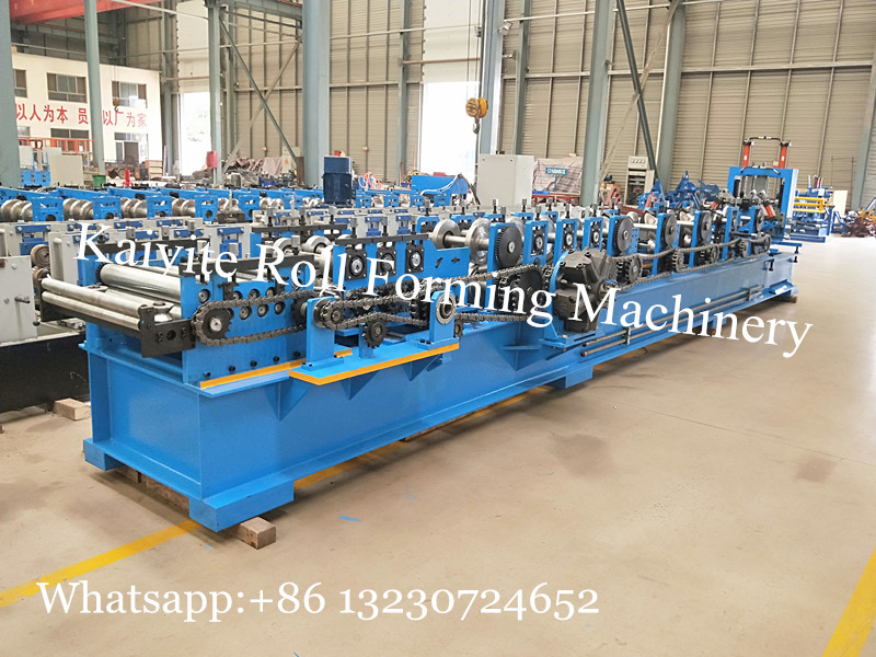 steel door frame forming machine