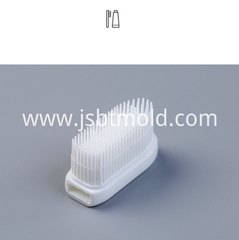 Removeable Head Antibacterial Adults Toothbrush