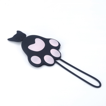 2018 Billiga silikon katt paw car key cover