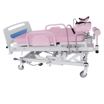 Ultra low position gynecology surgical table