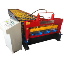 Chile popular design trapezoidal cold roll forming machine