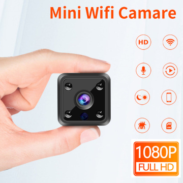 Ultra HD mini wifi-kamera med lyd
