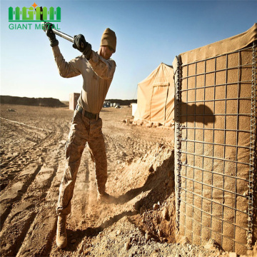 Hesco bastion blast wall military hesco barrier