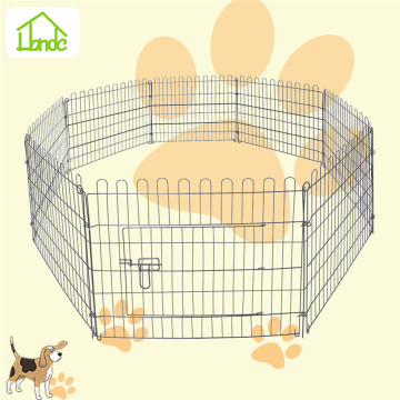 Small backyard folding dog playpens