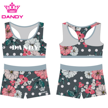 Good Quality for Sublimated Sport Wear round neck youth sublimated cheerleading practice wear export to Mexico Exporter