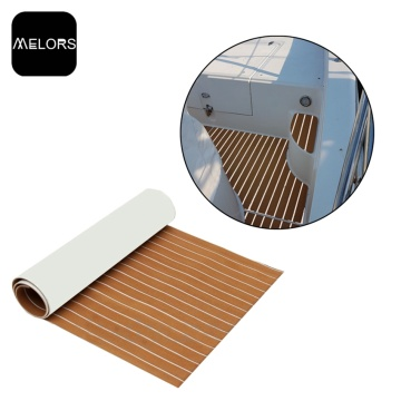 Non-skid EVA Yacht Decking Faux Teak Sheet