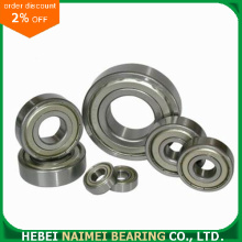 6307-2Z Metric Metal Shielded Deep Groove Ball Bearing