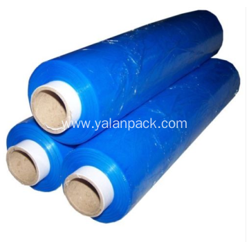 Hot new products blue pe stretch film