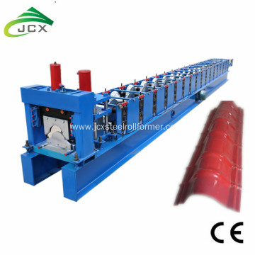 round Ridge cap flashing roof roll forming machine
