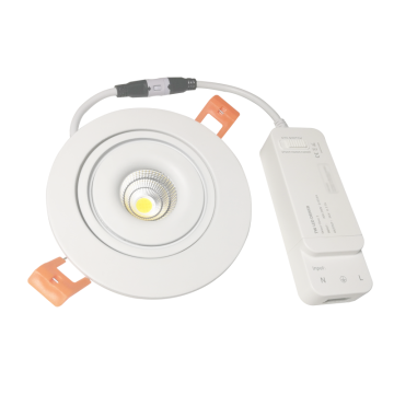 7W CCT Taiji led down light
