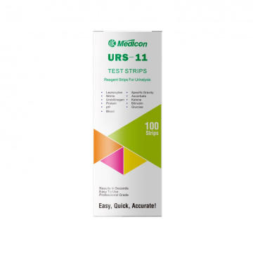 11 Para Urinalysis Test Strips