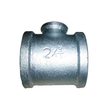 Banded Type Malleable Iron Reducing Tee