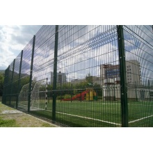 Direct factory pvc coated 3D bending mesh fence