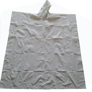 Plastic Rain Poncho Pattern Waterproof Fabric