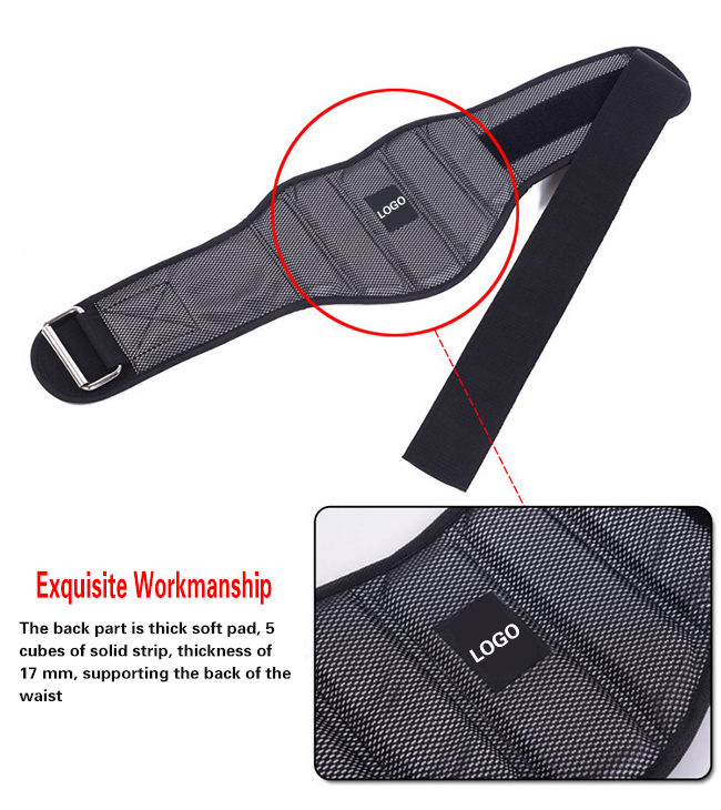 Weight Lifting Workout GYM Belt Back Support
