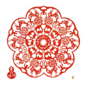 Chinese retro paper-cut silk craft gift free shipping