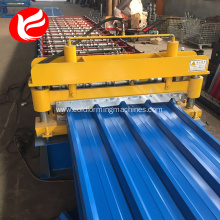 Galvanize roof sheet panel machine making machine