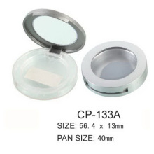 Empty Round Eyeshadow With Clear Window