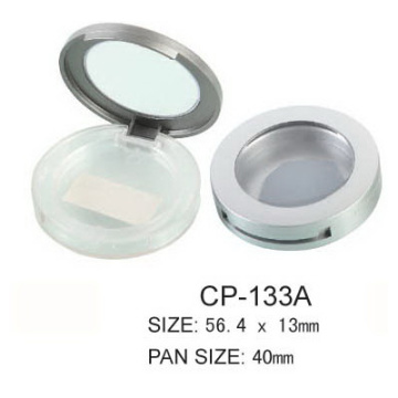 ODM for Round Compact Case Empty Round Eyeshadow With Clear Window supply to China Taiwan Manufacturer