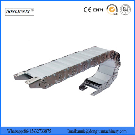 Flexible Cable Chain Wire Protective Steel Drag Chain