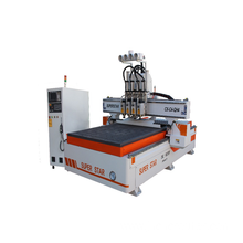 Multi Head Carving Machine Wood Working Cnc Router