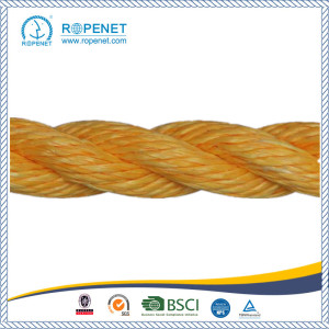 OEM manufacturer custom for 3 Strand Polypropylene Rope Safety Rope Twisted Rope For Industry export to Gambia Wholesale