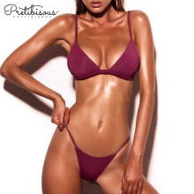 10 Years for Ladies Swimwear Sexy bikini set comfortable swimwear for women export to Russian Federation Wholesale